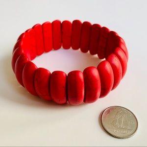 Vintage red bracelet